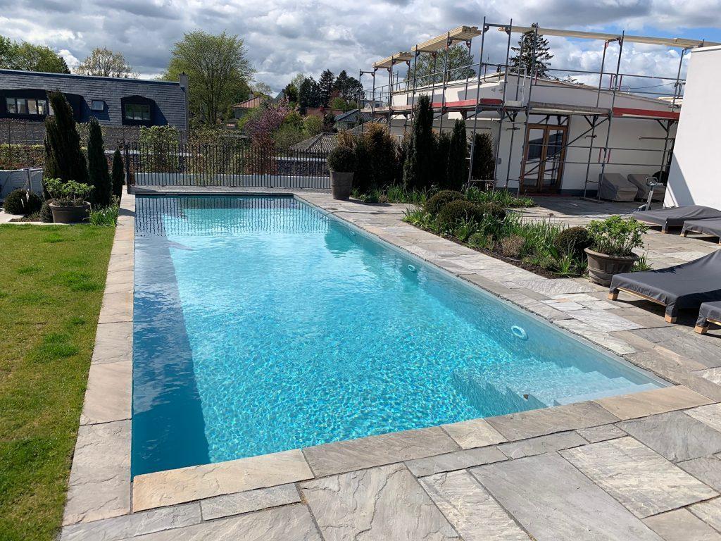 Privat Pool med Xtreme silver folie