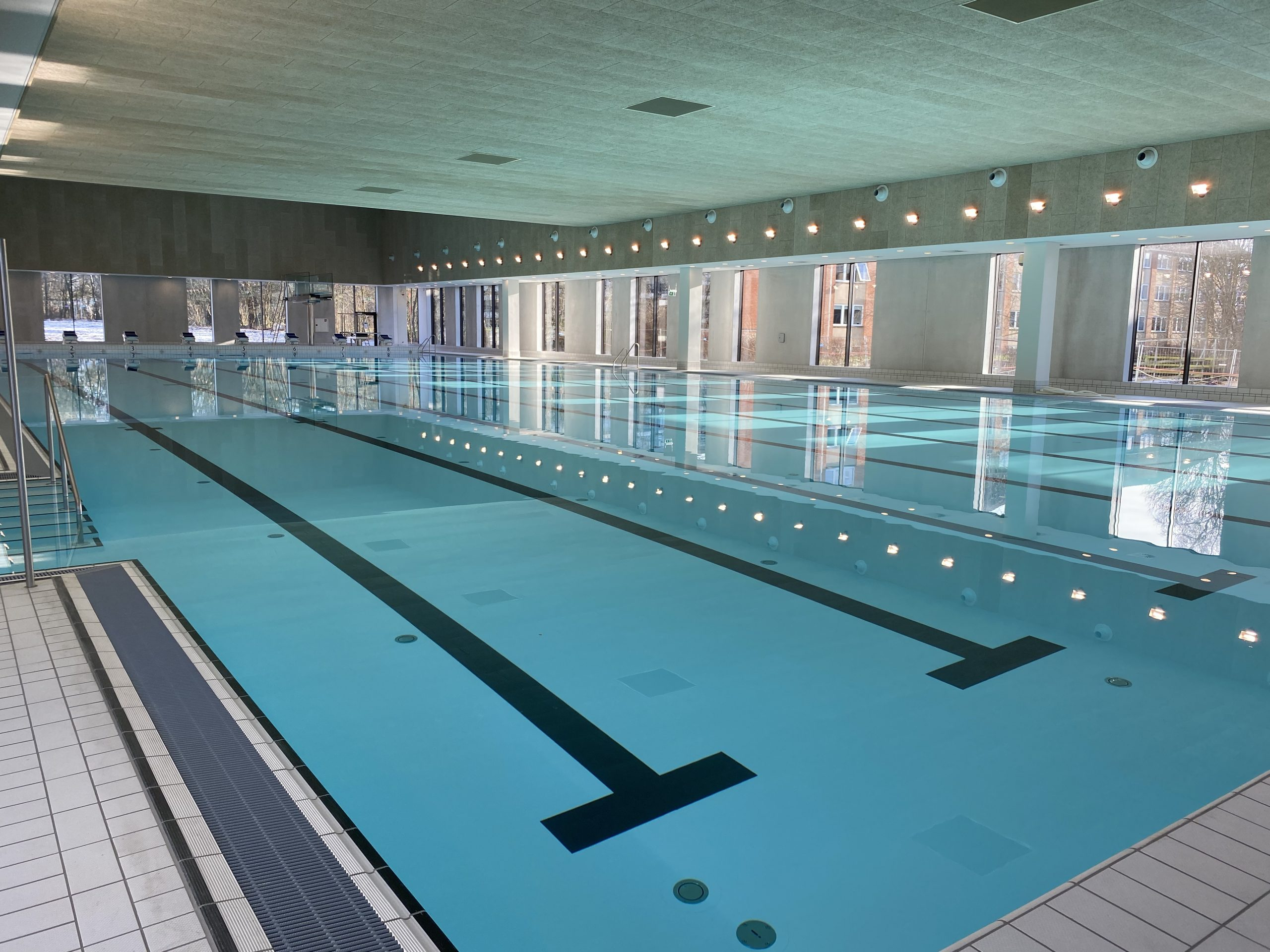 50 meters bassin, Roskilde Badet, Renovering 2020, Dansk Folie